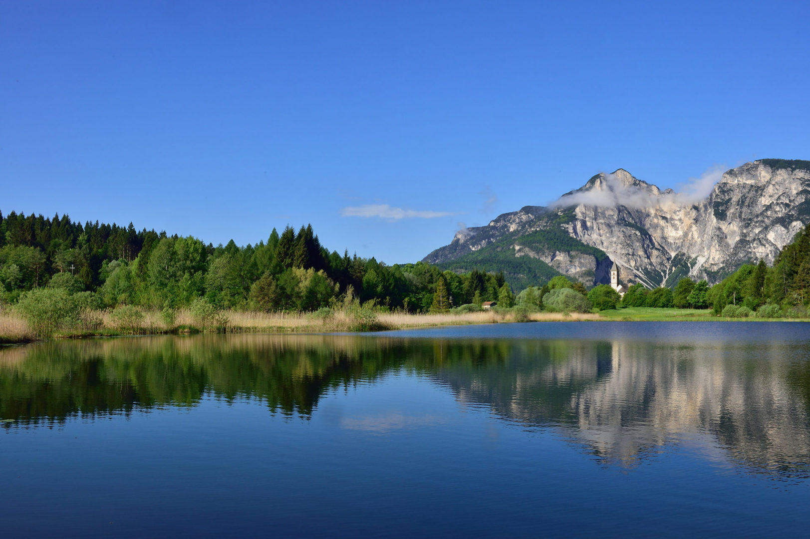 Swimming in South Tyrol